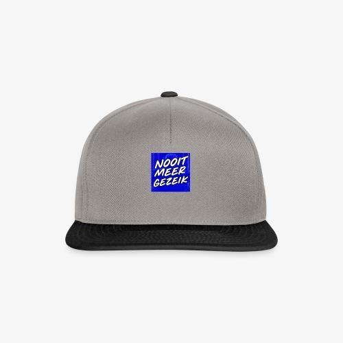 De 'Nooit Meer Gezeik' Merchandise - Snapback cap