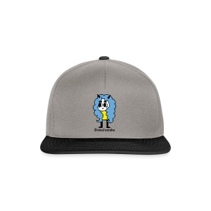 hana-chan ✻ blue yellow black - Snapback Cap