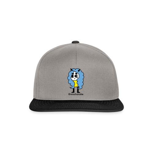 hana-chan ✻ blue yellow black - Snapback Cap