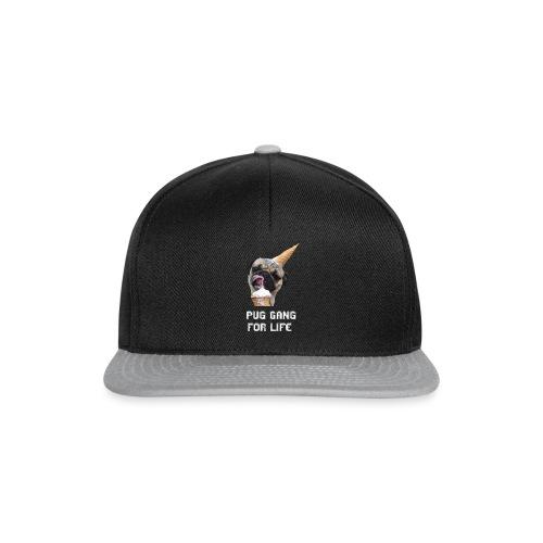 Pug Gang For Life. - Snapback Cap