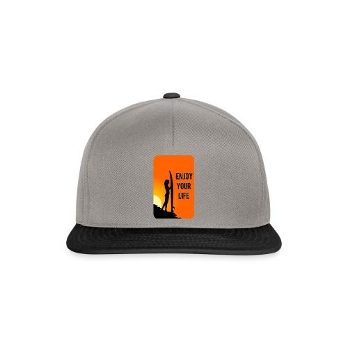 enjoy your life - Snapback Cap
