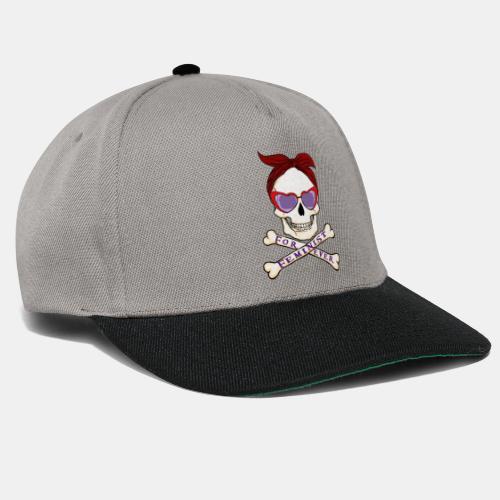 Feminist skull - Gorra Snapback
