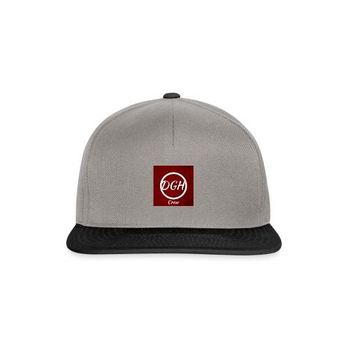 DGH rood - Snapback cap