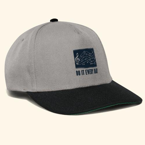do it every day music - Snapback Cap