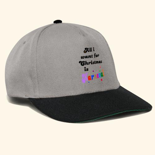 All i want for christmas is Karneval - Snapback Cap