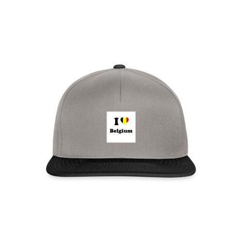 i love belgium - Snapback cap