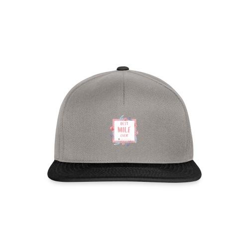 Best MILF ever - Milfcafé Shirt - Snapback Cap