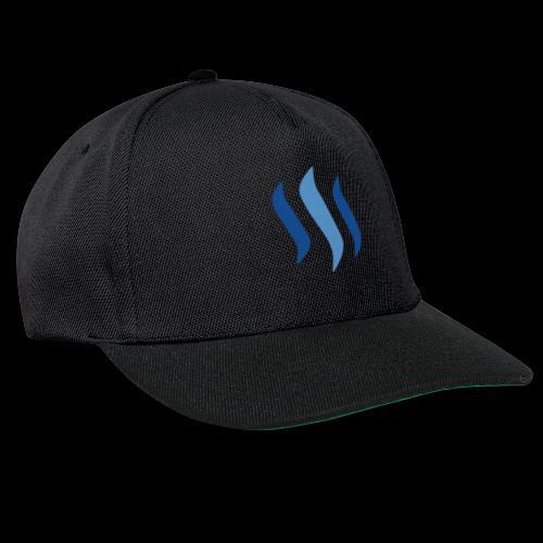 steem logo - Snapback Cap