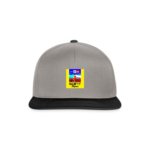 Saint Tropez Holiday Collection T-Shirt - Czapka typu snapback
