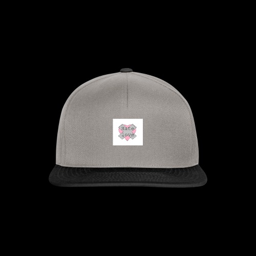 Hate love - Gorra Snapback