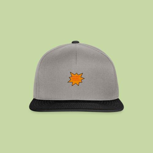 Lustiges T-shirt - Snapback Cap