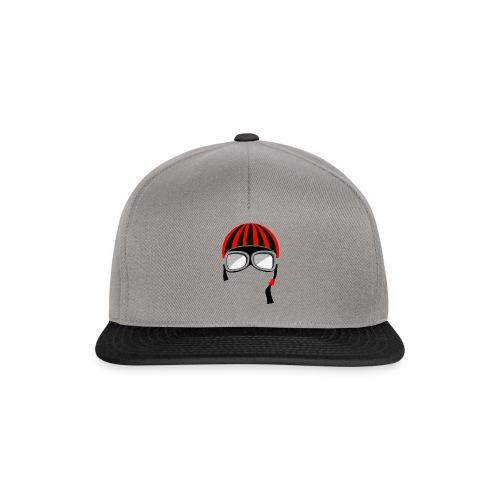 red_helmet-png - Snapback Cap