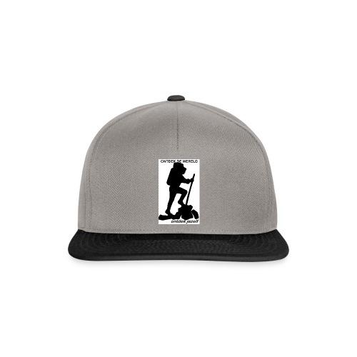 Ontdek de wereld, Backpacker - Snapback cap