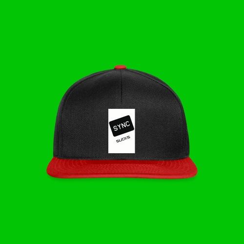 t-shirt-DIETRO_SYNK_SUCKS-jpg - Snapback Cap
