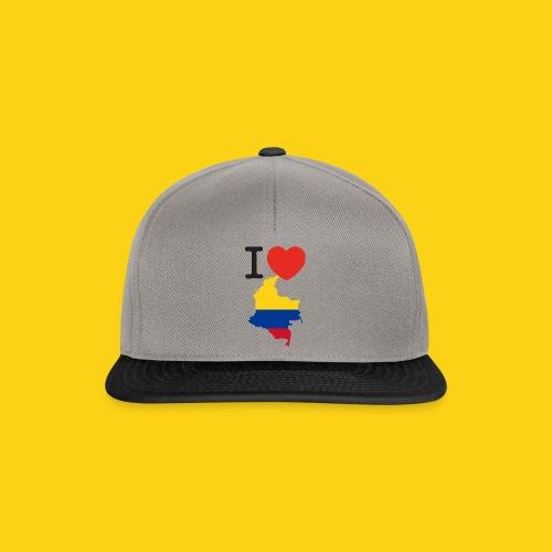 I love Colombia - Snapback Cap