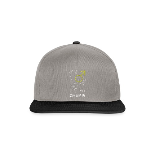 YOU AND ME - Gorra Snapback