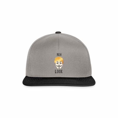 New Look Transparent /Anonymous Trump - Snapback Cap