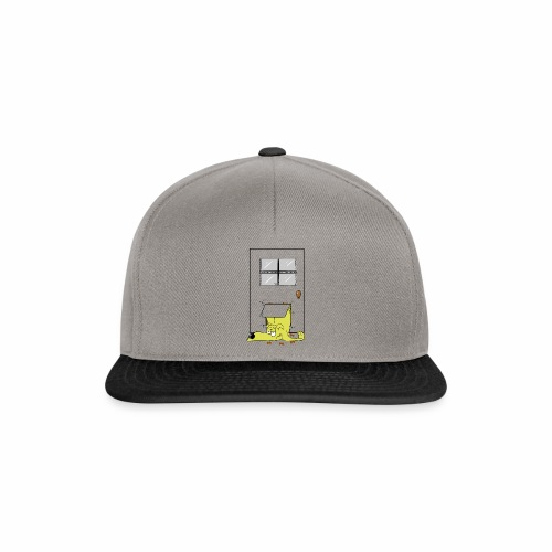 Stuck in a door dog - Snapback Cap