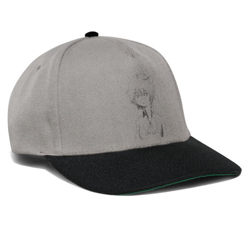 Cartoon girl - Snapback Cap