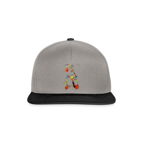 cola cherry 05 - Snapback Cap
