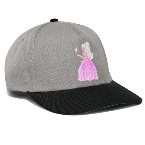 princesse et papillon - Casquette snapback