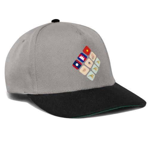 Proverb about Vietnam, Cambodia and Laos - Snapback Cap
