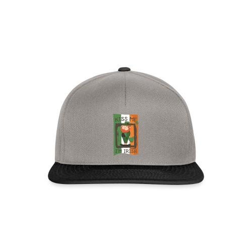 St. Patrick's Day Leprechaun - I'm Irish - Kiss Me - Snapback Cap