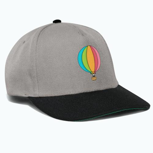 Zebra Zach Air Balloon - Snapbackkeps