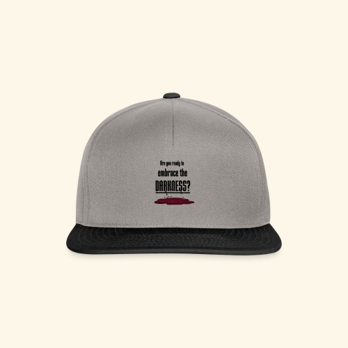 Embrace the Darkness - Snapback Cap