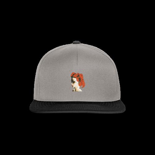 Illustratie smeltende vrouw - Snapback cap