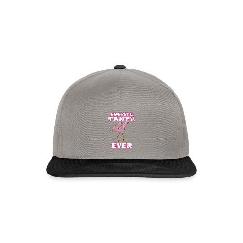 Coolste tante flamingo ever - Snapback Cap