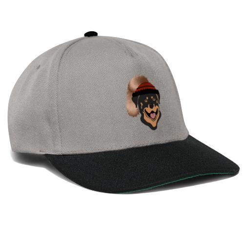 Rottweiler mit Wadelkappe - Snapback Cap