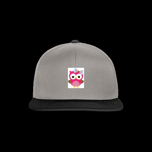Girly Owl - Snapback Cap