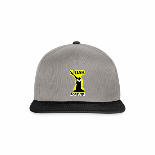 DAB FOREVER STATUE OF LIBERTY- YELLOW - Snapback Cap