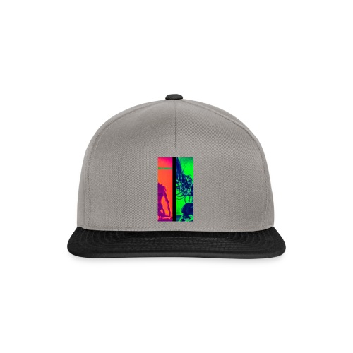 Pop-Art Double Flash Color twist New Neon - Snapback Cap