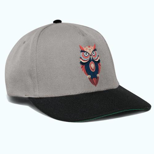 Hippie owl - Snapback Cap