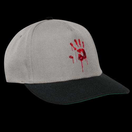 Promote Horror Blood-Soaked Hand - Snapback Cap