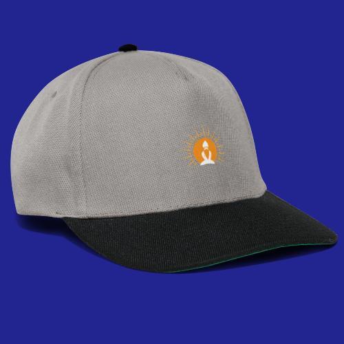 Guramylyfe logo white no text - Snapback Cap