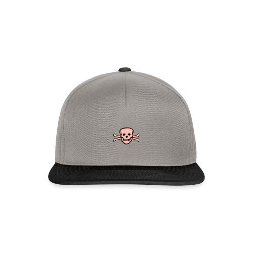 skull tattoo style - Snapback Cap