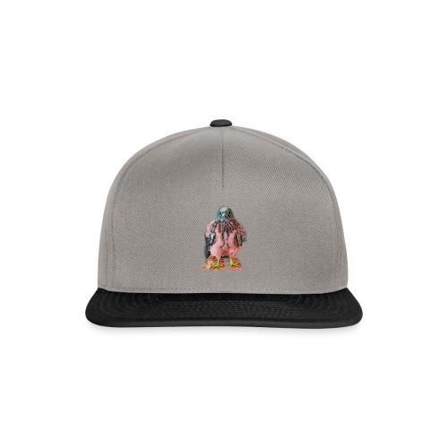 Pink bird growing 2 - Snapback Cap