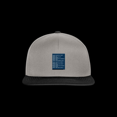 witze - Snapback Cap