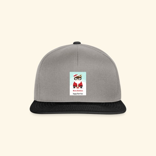 SantaCat - Snapback Cap