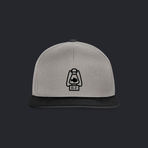 Logo Simple Black - Snapback Cap