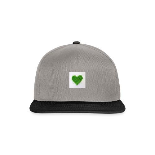 Herzrasen Button - Snapback Cap