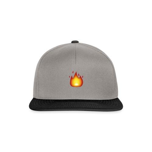 Fire Emoji - Snapback Cap
