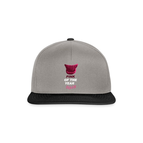 pink of the year 2018 pussyhat - Snapback Cap