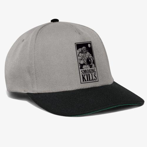 Smoking Kills - Snapback Cap