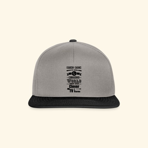 Clever TV Series - Snapback Cap