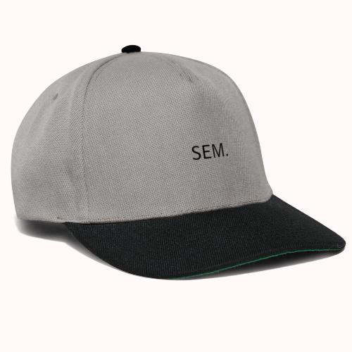 Sem. - Snapback cap