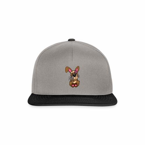 Hase kuscheln - Snapback Cap